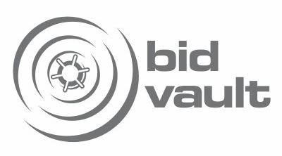 BidVault Concept Logo Design