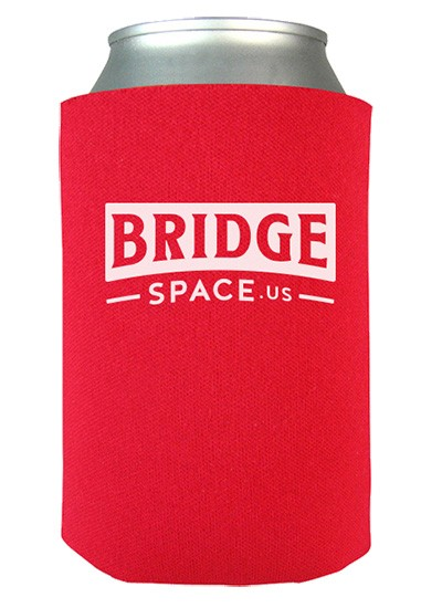 Bridge Space Can Coozie