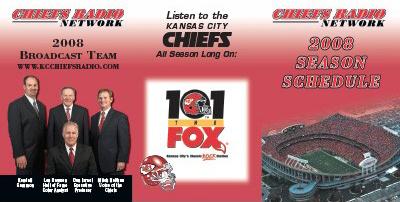 Chiefs Radio Network Schedules