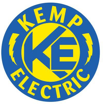 Kemp Electric Logo Design